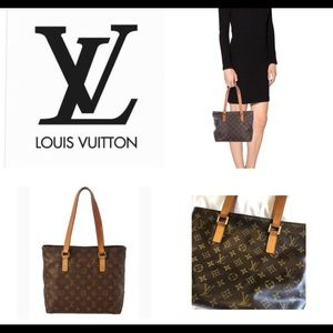 Authentic -Louis Vuitton Cabas Piano Purse